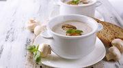 Pieczarkowa zupa z ziemniakami