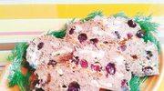Pieczeń z borówkami i camembertem