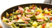 Pieczone warzywa zwędzonką