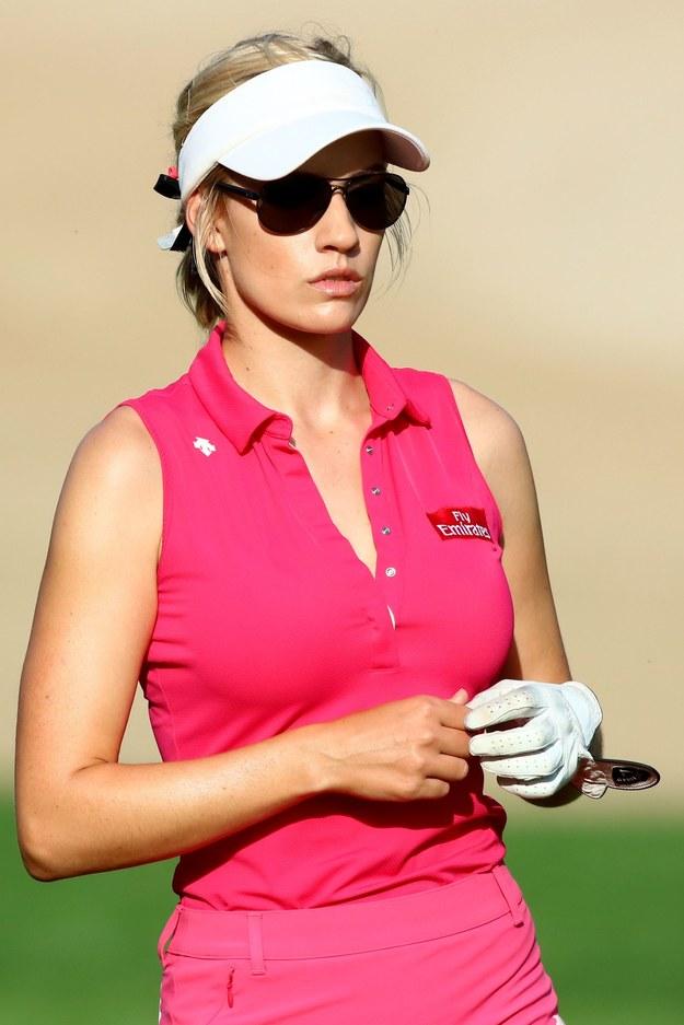 Piękna amerykańska golfistka Paige Spiranac /AFP