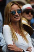Piękna partnerka Tomasa Berdycha Ester Satorova dopingowała Czecha, który pokonał Rafaela Nadala 6:2, 6:0, 7:6 (7-5) w ćwierćfinale Australian Open