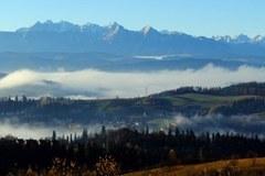 Piękny poranek w Pieninach