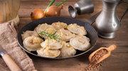 Pierogi z ziemniakami lub kaszą