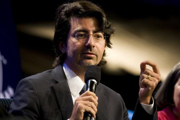Pierre Omidyar /AFP
