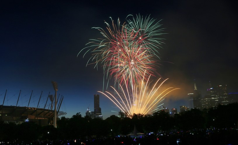 Pierwsi mieszkańcy Ziemi powitali już 2014 rok. /AAP Image/David Crosling /EPA
