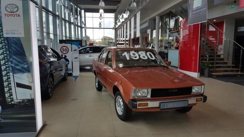 Pierwsza Corolla sprzedana w Polsce /