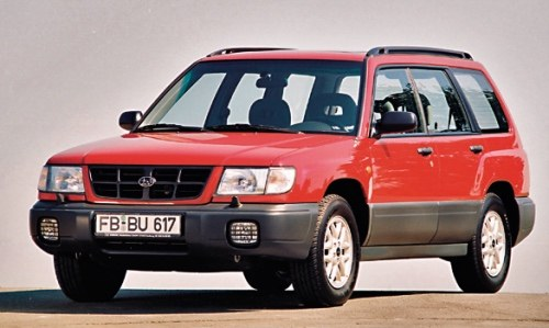 Pierwsza generacja Forestera zadebiutowała w Europie w 1997 r. /Subaru
