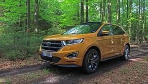Pierwsza jazda Fordem Edge - sprawdzamy nowego, topowego SUVa