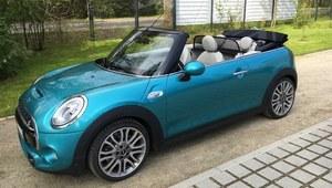 Pierwsza jazda Mini Cabrio - mini auto, maksimum wrażeń