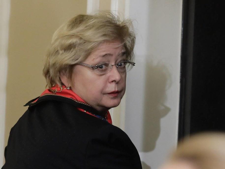 Pierwsza Prezes Sądu Najwyższego - prof. Małgorzata Gersdorf /Tomasz Gzell   /PAP