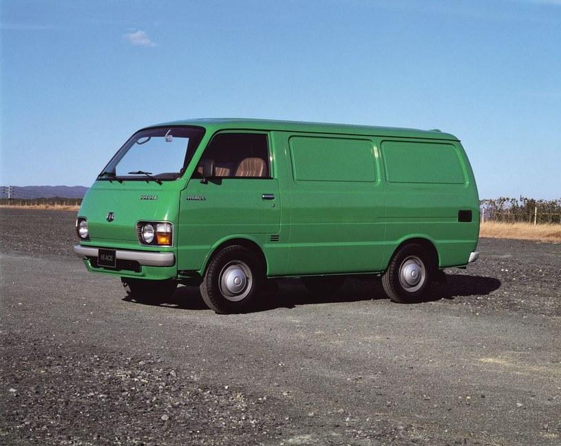 Pierwsza Toyota HiAce z silnikiem Diesla /