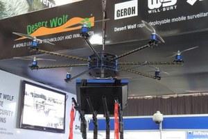 Pierwsze drony przeznaczone do walki z tłumem