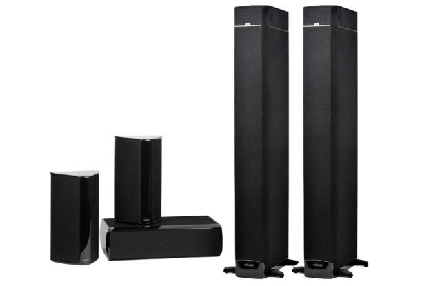 Pierwsze głośniki do kina domowego spełniające najnowszy standard Dolby Atmos. /INTERIA.PL/informacje prasowe