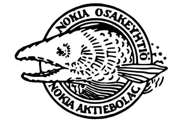 """Pierwsze logo firmy Nokia - wtedy firma produkowała przysłowiowe """"wszystko"""" /materiały prasowe"""