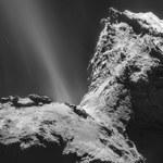 """Pierwsze """"nagranie"""" z komety w historii"""