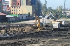 Pierwsze prace na budowie łódzkiego dworca