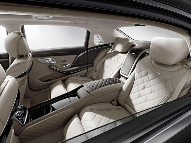 Pierwsze zdjęcie wnętrza nowego Maybacha S 600 /Mercedes