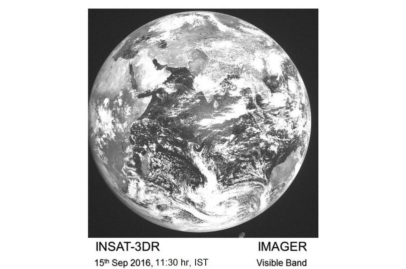 Pierwsze zdjęcie z INSAT 3DR /materiały prasowe