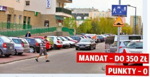 Pierwszeństwa dla pieszych w strefie zamieszkania /Motor