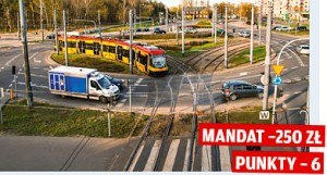 Pierwszeństwo dla tramwaju /Motor