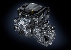 Pierwszy beznynowy silnik turbo w historii Lexusa /Lexus