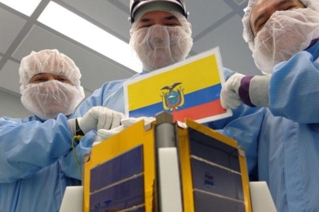 Pierwszy ekwadorski satelita utracony /materiały prasowe