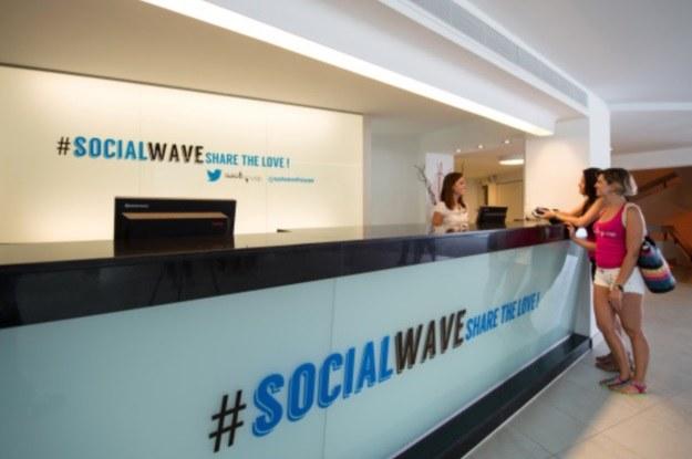 Pierwszy na świecie hotel dla fanów Twittera /materiały prasowe