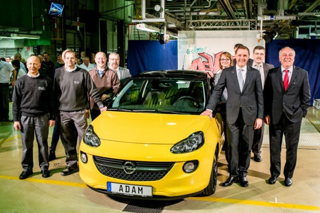 Pierwszy Opel Adam /