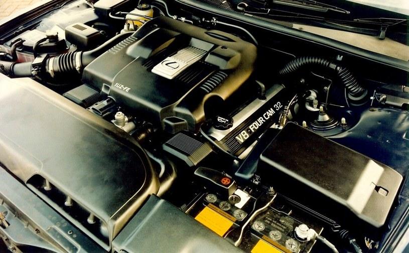 Pierwszy silnik V8 Lexusa /INTERIA.PL