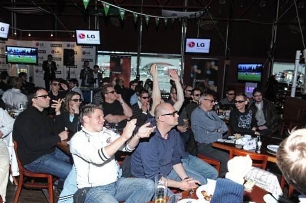 Pierwszy transmitowany w Polsce mecz w 3D - Wisła Kraków - Odra Wodzisław /materiały prasowe