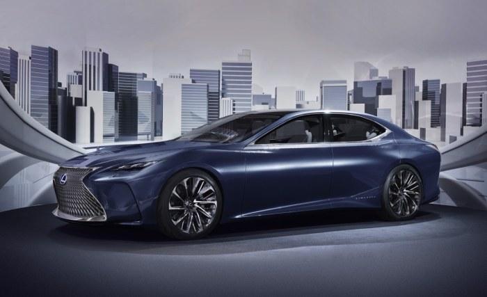 Pierwszym Lexusem z nowym napędem będzie flagowy sedan LS /INTERIA.PL/informacje prasowe