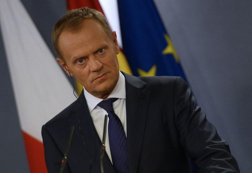 Pierwszym politykiem PO, który ogłosił oficjalnie, że jest przeciwny udziałowi w głosowaniu był premier Donald Tusk. /AFP