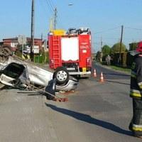 Pijany 20-latek spowodował groźny wypadek. Policja publikuje film