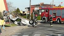 Pijany 20-latek spowodował groźny wypadek