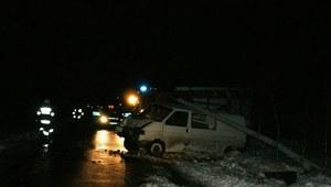 Pijany kierowca sprawcą wypadku
