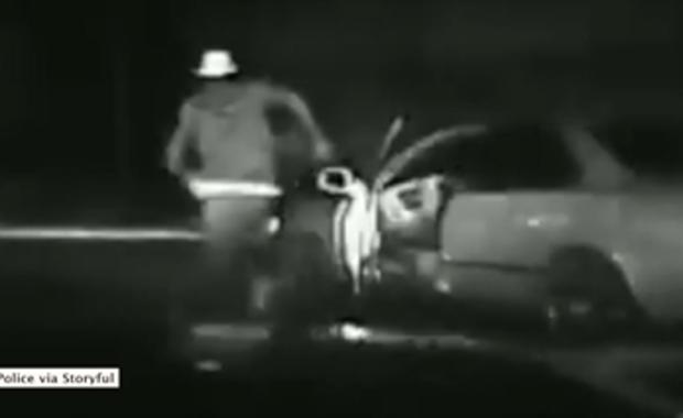 Pijany kierowca uciekał przed policją i wpadł pod koła własnego auta