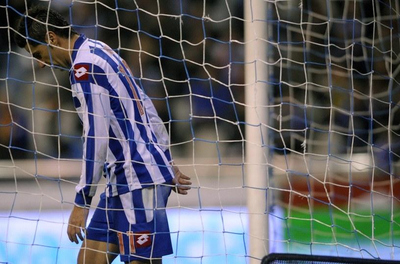 Piłkarz Deportivo Riki /AFP