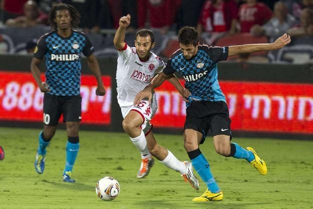 Piłkarz PSV Eindhoven Kevin Strootman (z prawej) /AFP