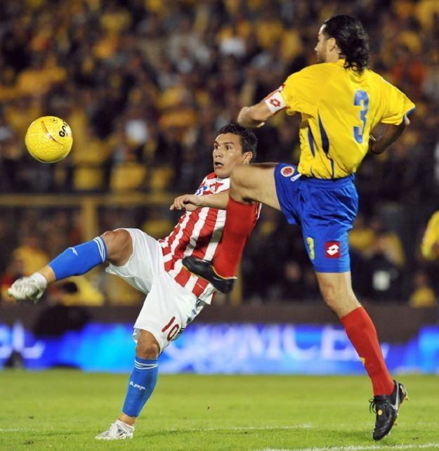 Piłkarz reprezentacji Paragwaju Salvador Cabanas /AFP