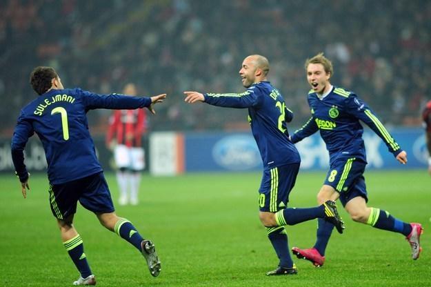Piłkarze Ajaksu Amsterdam nie zagrają w niedzielę z Feyenoordem Rotterdam /AFP