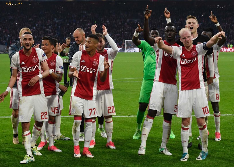 Piłkarze Ajaksu Amsterdam /AFP