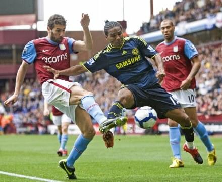 Piłkarze Aston Villii pokonali Chelsea Londyn 2:1 /AFP