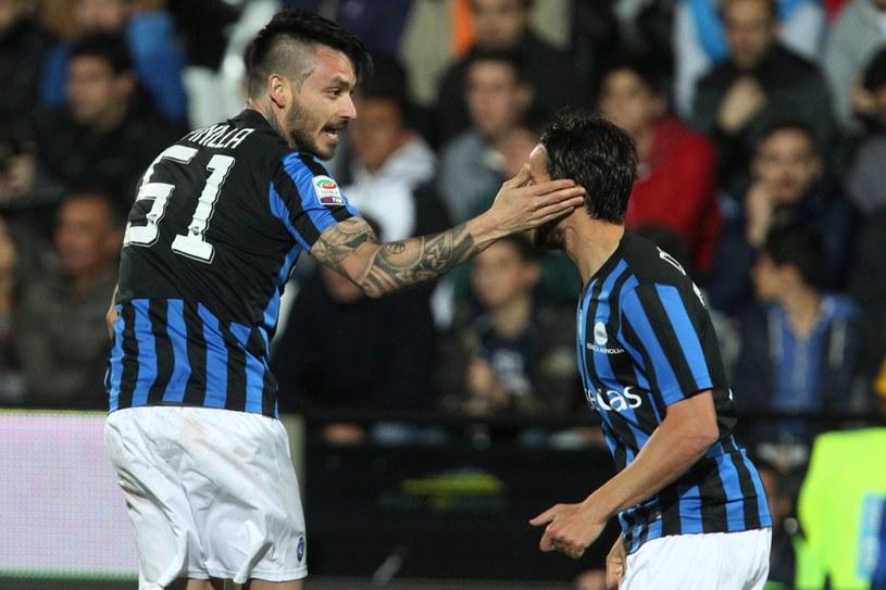 Piłkarze Atalanty Bergamo zajmują obecnie 17. miejsce w tabeli Serie A /PAP/EPA