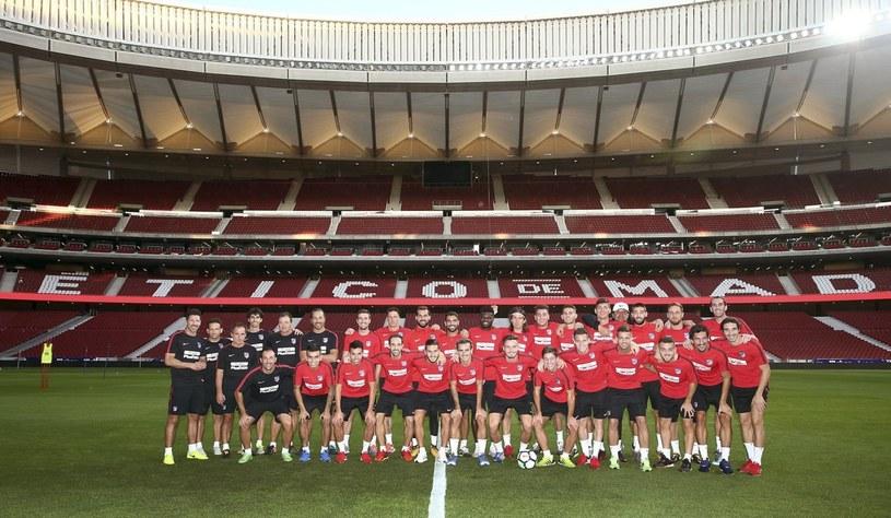 Piłkarze Atletico na nowym stadionie /PAP/EPA