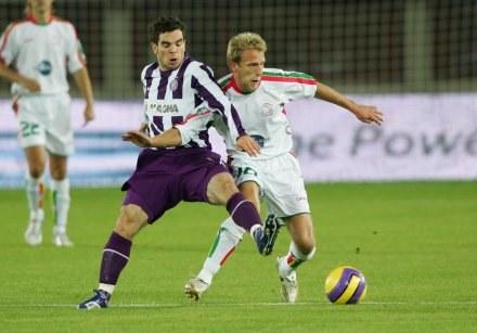 Piłkarze Austrii Wiedeń (z lewej) zagoszczą w SportKlubie /AFP