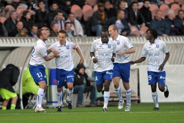 Piłkarze Auxerre /AFP