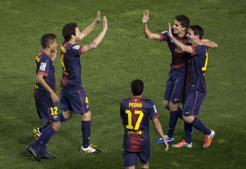 Piłkarze Barcelony są warci 651 mln euro /AFP