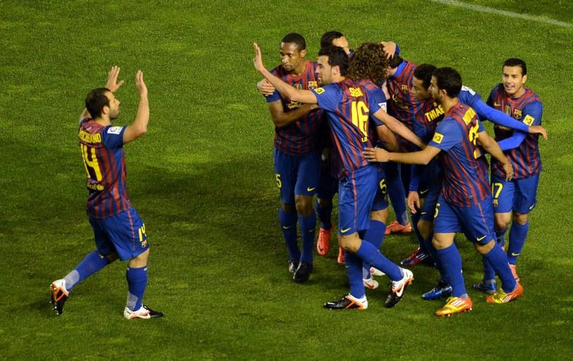 Piłkarze Barcelony zorganizowali sobie festiwal strzelecki /AFP