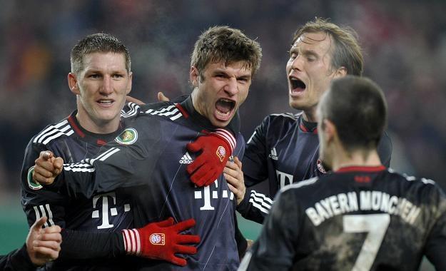 Piłkarze Bayernu w meczach ze Stuttgartem są zadziwiająco skuteczni /AFP