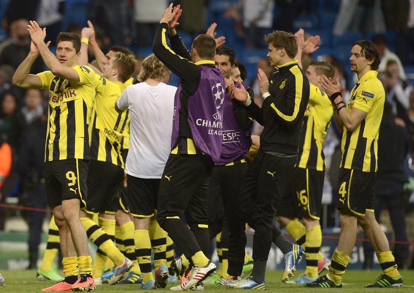 Piłkarze Borussii Dortmund mają się z czego cieszyć /AFP